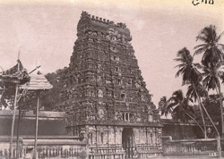East gopura of the Shiva Temple, Tiruvadi